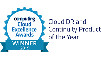 Cloud DR and Continuity Product of the year