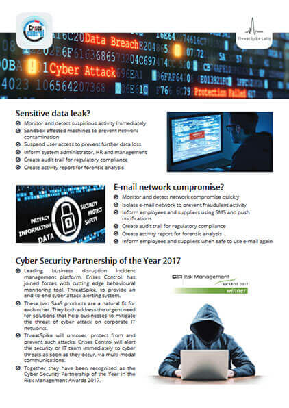 Cyber security partnership