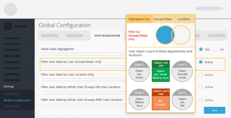 data segregation2