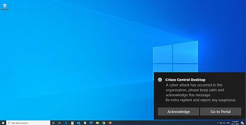 Crises Control Desktop App