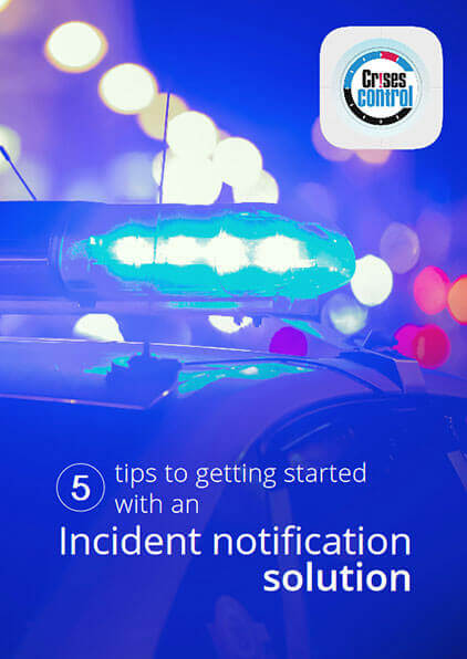tips for incident notification solution
