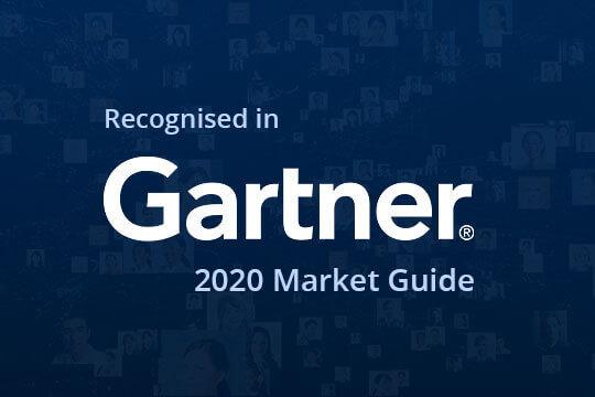 Recognised in Gartner