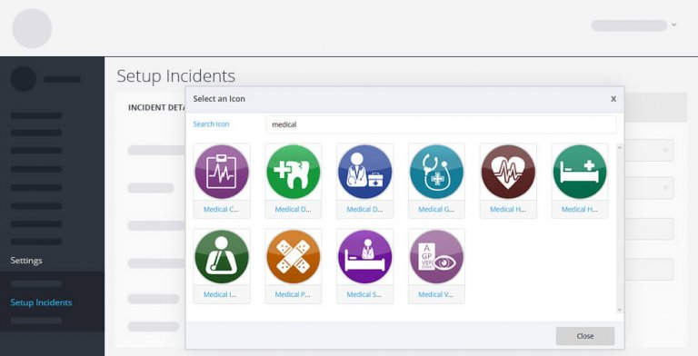 incident icons