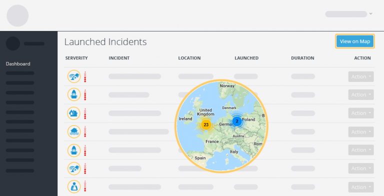 incidents map