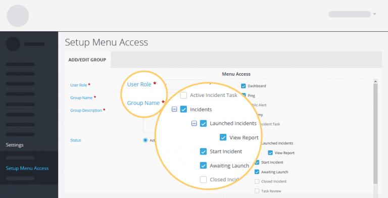 menu access