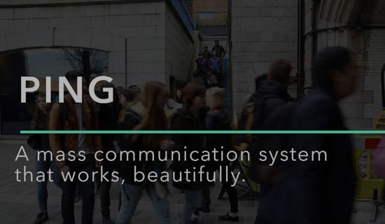 Ping - Mass Communication Syatem - Video