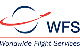 Worldwide flight services logo