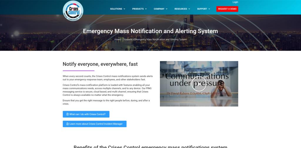 Screenshot 2021 04 08 Emergency Mass Notification System Alert Messaging System