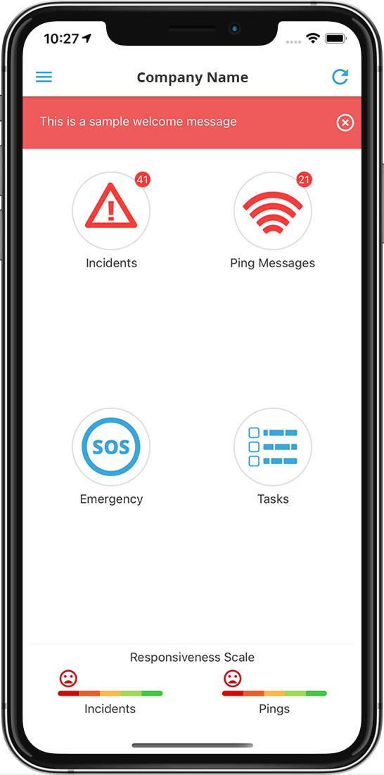 Crises Control App UI