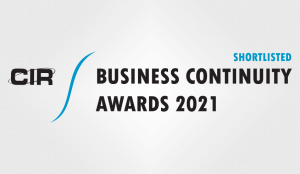Crises Control Shortlisted in CIR Business Continuity Awards 2021