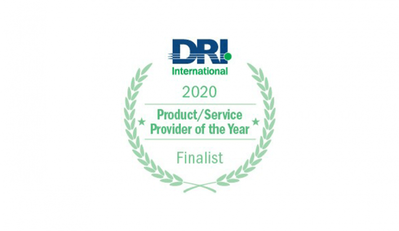 Crises Control shortlisted in DRI International Awards of Excellence 2020