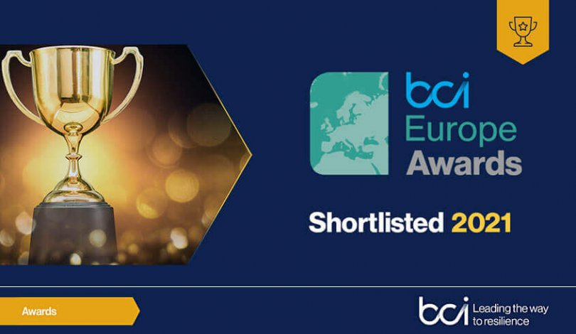 Crises Control Shortlisted in BCI Europe Awards 2021