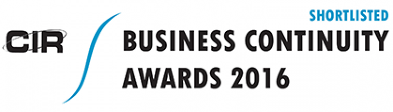 Crises Control shortlisted for Business Continuity Awards 2016
