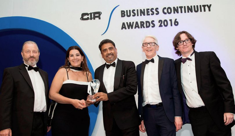Crises Control shortlisted for Business Continuity Awards 2017