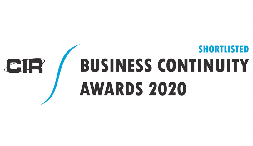 Crises Control shortlisted in CIR Business Continuity Awards 2020