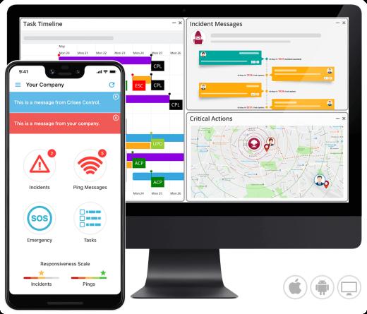 Crises Control App & Portal