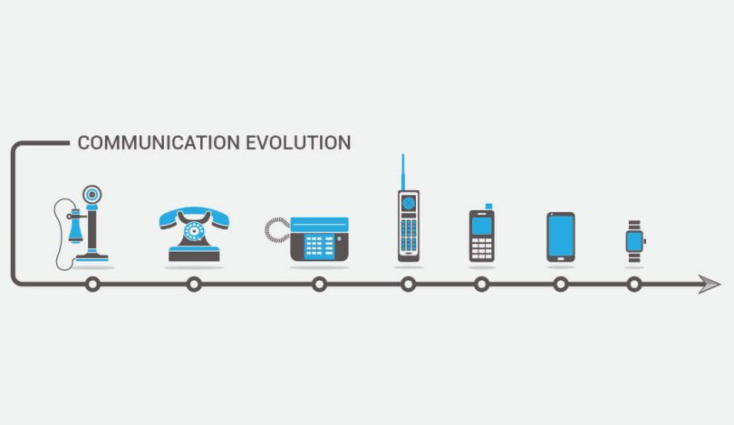 The evolution of mass communication