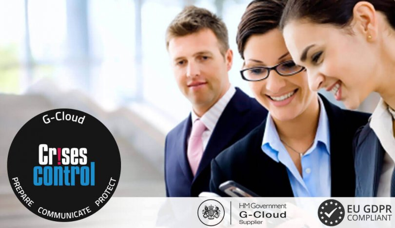 Crises Control listed on G-Cloud 11 digital marketplace