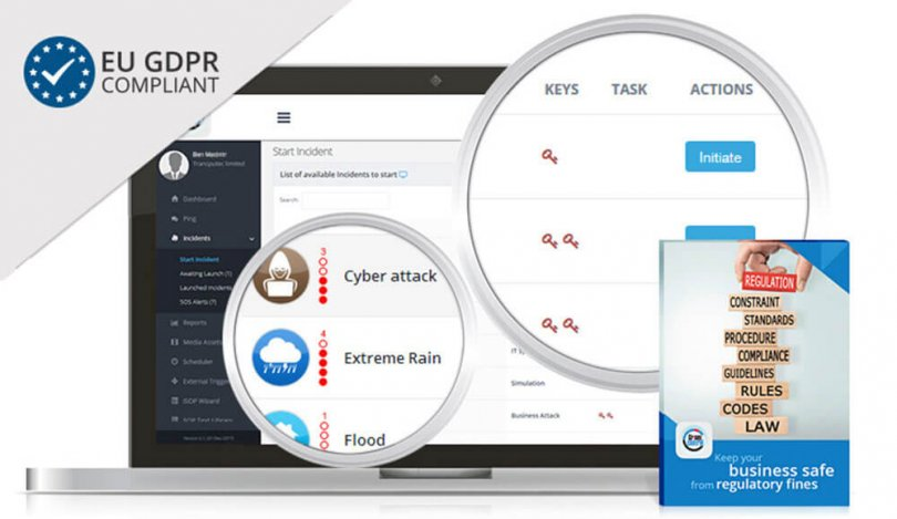 Introducing Crises Control - A secure web-based crisis management tool