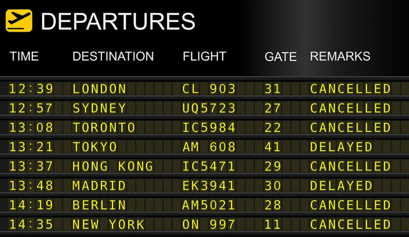 Flight delays ahead, plan now for your journey